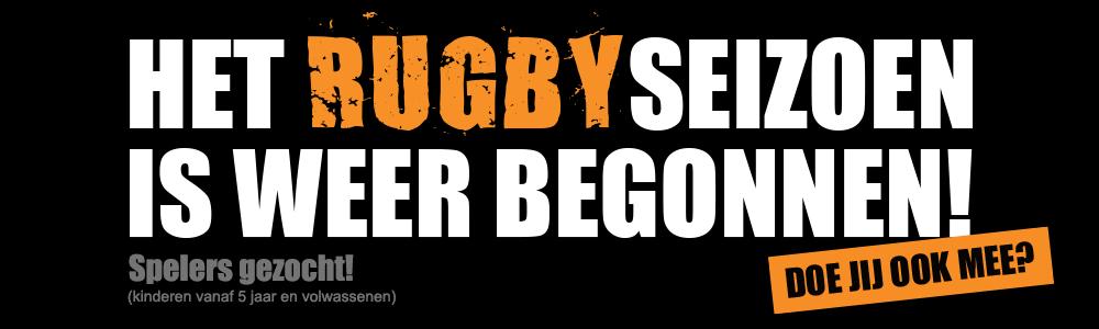 Het rugbyseizoen is weer begonnen!